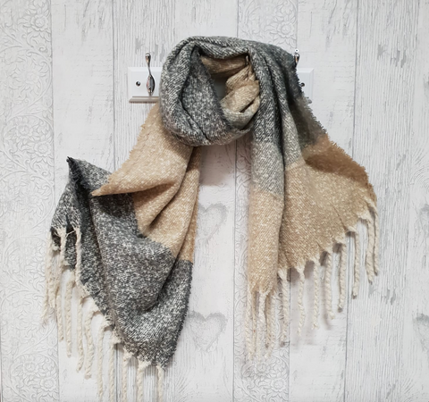 Winter Tassel Scarves