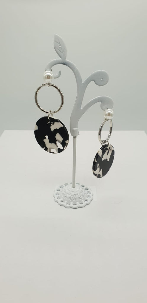 Acrylic Splash Earrings