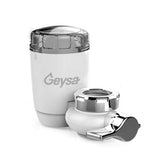 Geysa 6 Stage Faucet Filter with Advanced Water Filtration - White