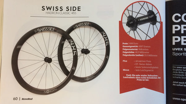 Swiss Side HADRON Classic Test