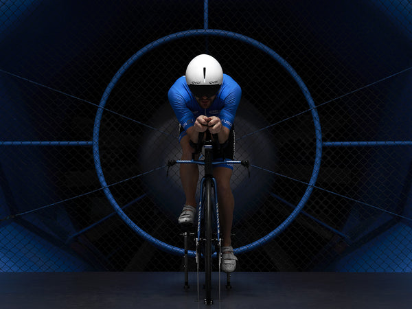 Patrick Lange on Swiss Side HADRON Ultimate in wind tunnel