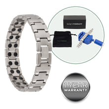 Load image into Gallery viewer, Pure Titanium Magnetic Therapy Bracelet
