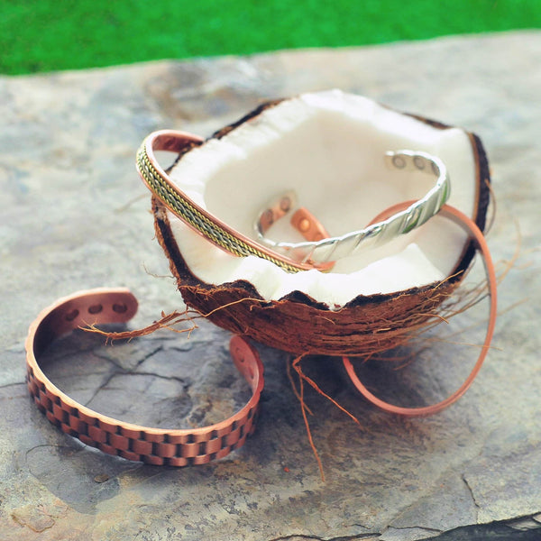 Solid Copper Ring Band - Men's or Women's