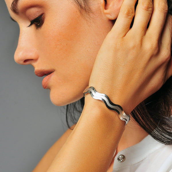 Silver Pure Copper Magnetic Therapy Bracelet Combined Offer - Save $2