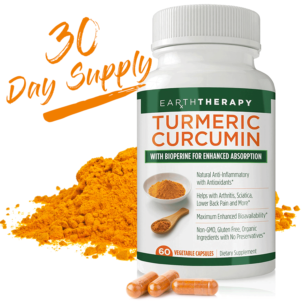 Turmeric Curcumin with Bioperine For Enhanced Pain Relief & Absorption