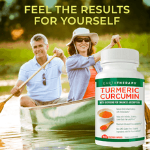 Load image into Gallery viewer, Turmeric Curcumin with Bioperine For Enhanced Pain Relief & Absorption