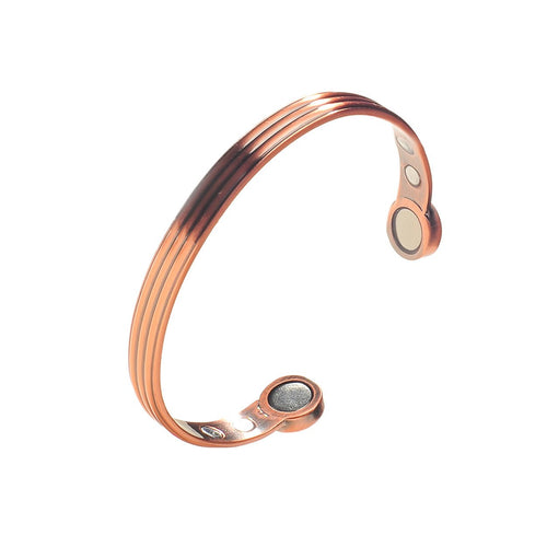 Copper Magnetic Tennis Bracelet for Recovery & Injury Relief