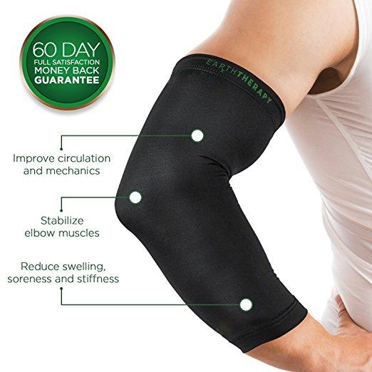 Copper Elbow Compression Sleeve - Medium