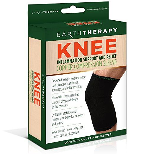 Copper Knee Compression Sleeve - Large