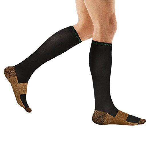 Copper Compression Socks Unisex S/M