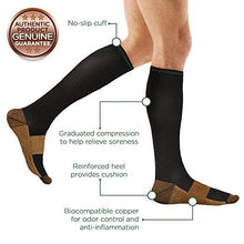 Load image into Gallery viewer, Copper Compression Socks Unisex L/XL