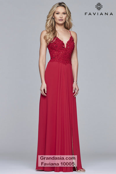 Faviana 10005 Prom Dress