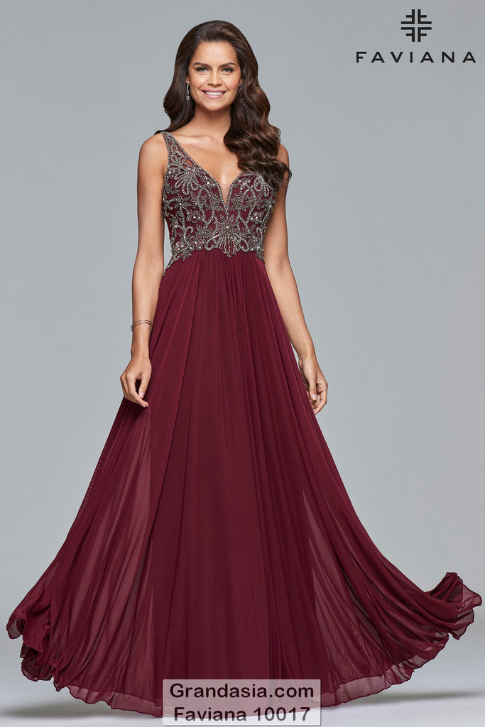 Faviana 10017 Prom Dress