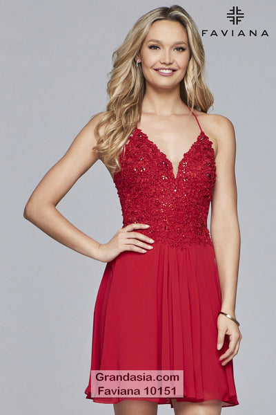 Faviana 10151 Prom Dress