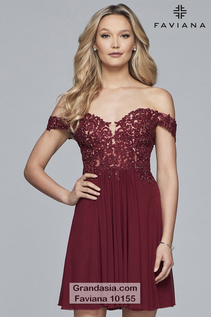 Faviana 10155 Prom Dress
