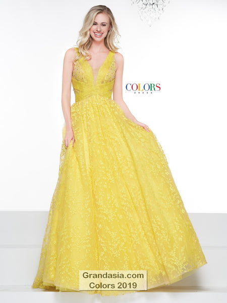 Colors 2019 Prom Dress