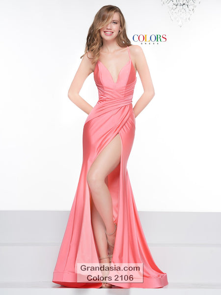 Colors 2106 Evening Gown