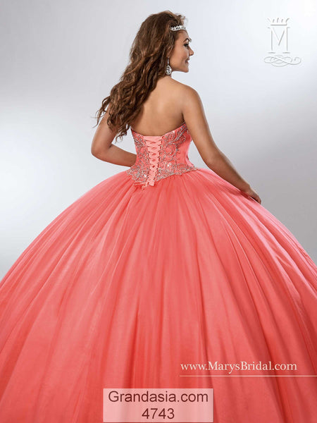 Mary's 4743 Quinceanera Dress