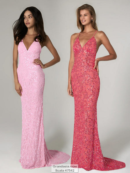Scala 47542 Prom Dress (sizes 00-6)