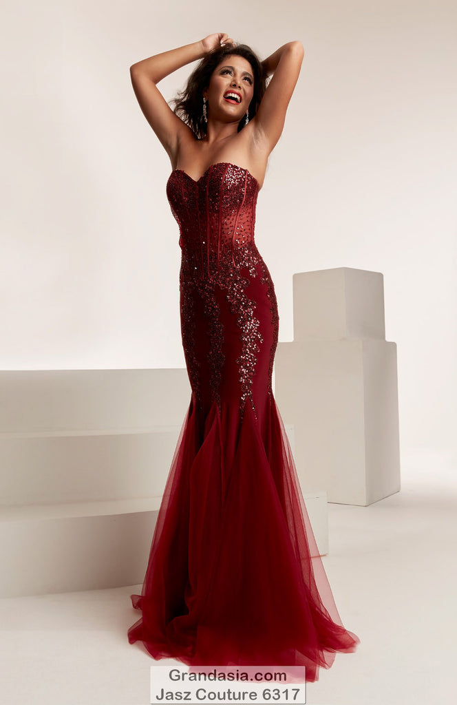 Jasz Couture 6317 Prom Dress