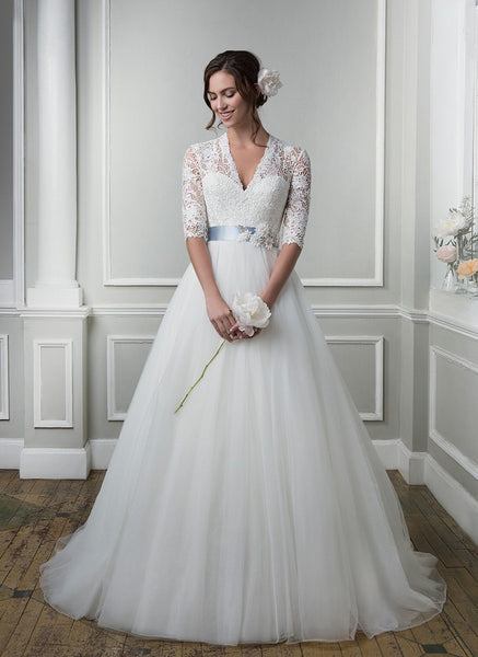 Lillian West 6387 Bridal Gown