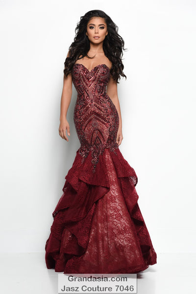 Jasz Couture 7046 Prom Dress