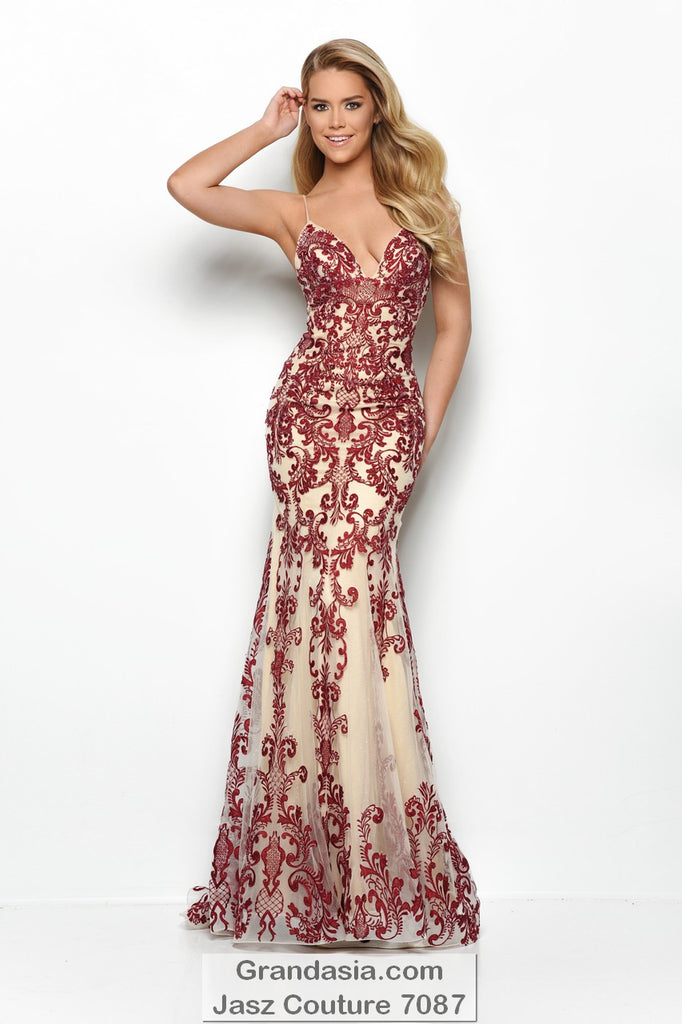 Jasz Couture 7087 Prom Dress
