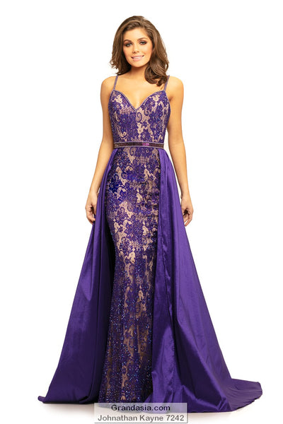 Johnathan Kayne 7242 Prom Dress (sizes 12 - 24)