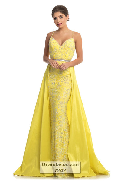 Johnathan Kayne 7242 Prom Dress (sizes 00 - 10)
