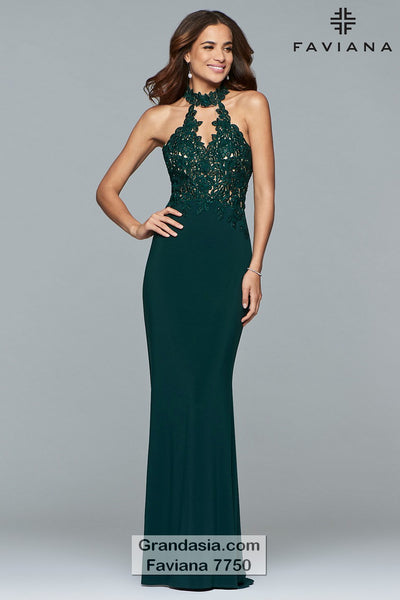 Faviana 7750 Prom Dress