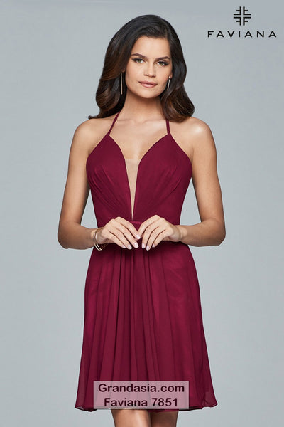 Faviana 7851 Cocktail Dress