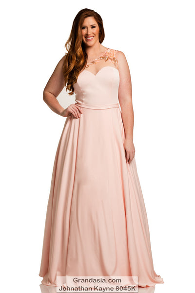 Johnathan Kayne Kurves 8045K Prom Dress