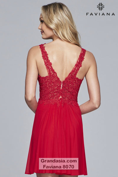 Faviana 8070 Cocktail Dress