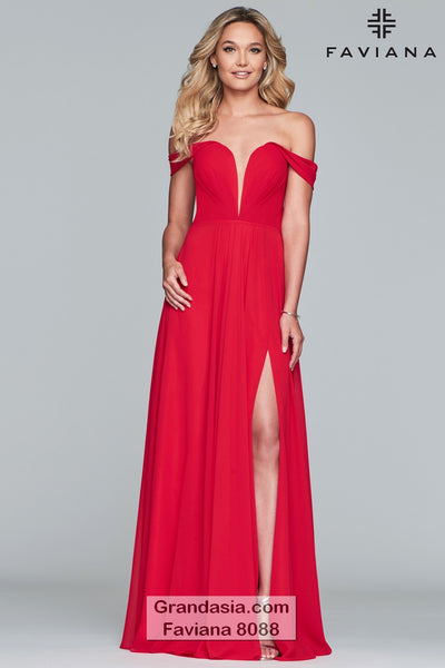Faviana 8088 Prom Dress