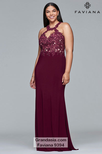 Faviana Curves 9394 Prom Dress