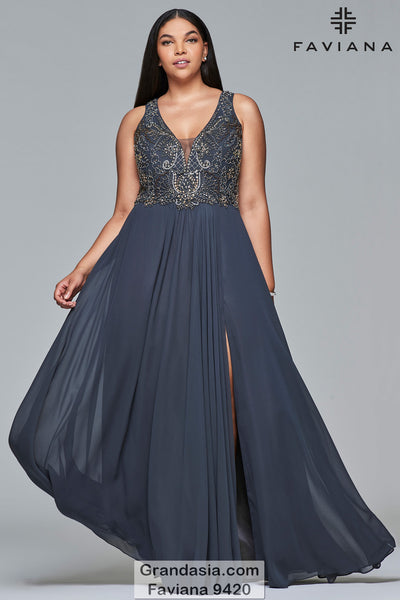 Faviana 9420 Prom Dress