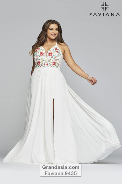 Faviana Curves 9435 Prom Dress