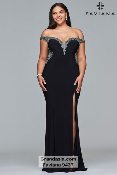 Faviana Curves 9437 Prom Dress