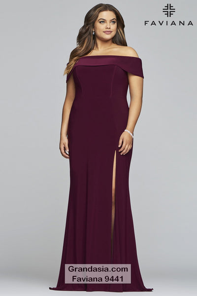 Faviana Curves 9441 Prom Dress