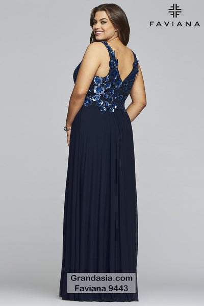 Faviana Curves 9443 Prom Dress