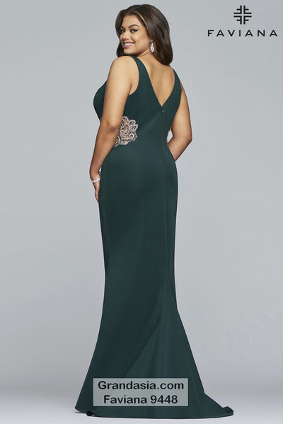 Faviana Curves 9448 Prom Dress