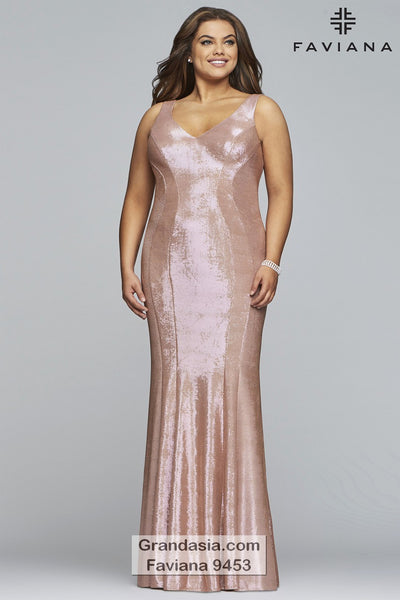 Faviana Curves 9453 Prom Dress