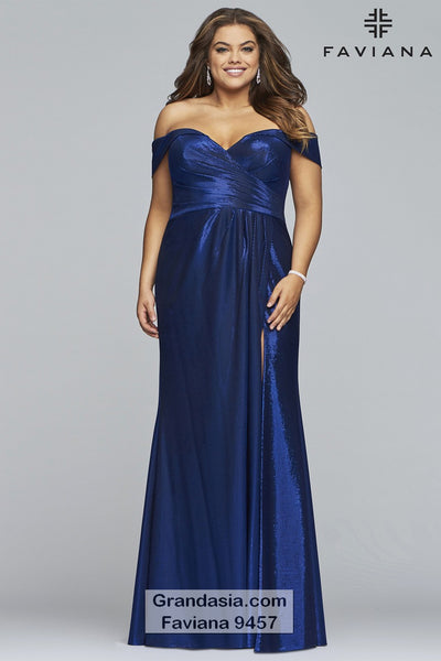 81d3536e28d Faviana Curves 9457 Prom Dress