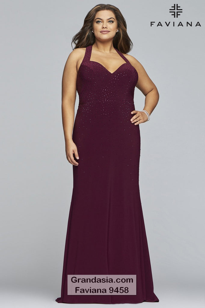 Faviana Curves 9458 Prom Dress