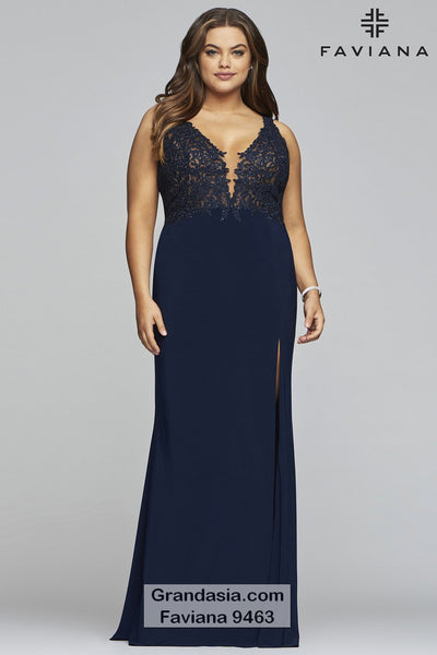 Faviana Curves 9463 Prom Dress