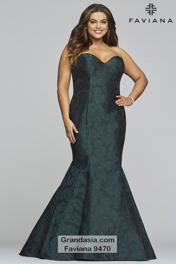 Faviana Curves 9470 Prom Dress