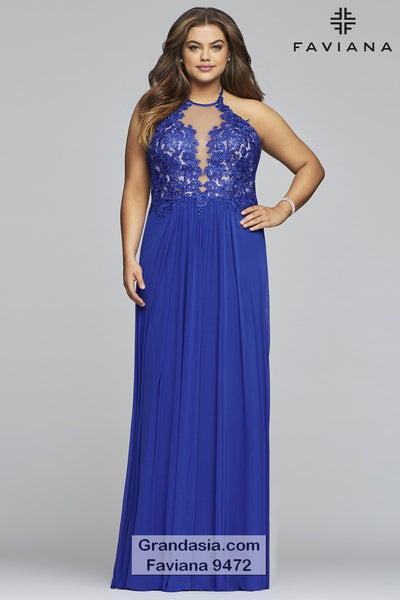 Faviana Curves 9472 Prom Dress