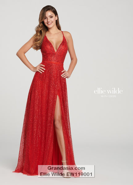 Ellie Wilde EW119001 Prom Dress