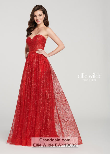 Ellie Wilde EW119002 Prom Dress