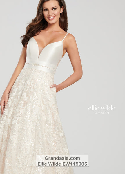 Ellie Wilde EW119005 Prom Dress